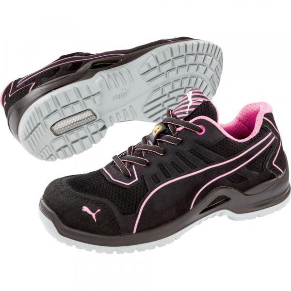 Chaussure de sécurité basse femme Fuse Pink Low ESD S1P SRC