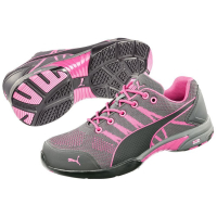 Baskets de sécurité basse femme Puma Celerity Knit Pink S1 HRO SRC - Ensemble