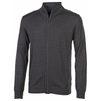 Pull de travail grand zip Penduick Full Zip Jumper gris