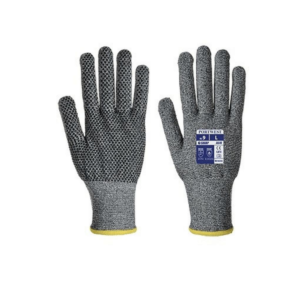 gants anti coupures portwest a640 sabre picots pvc. Black Bedroom Furniture Sets. Home Design Ideas