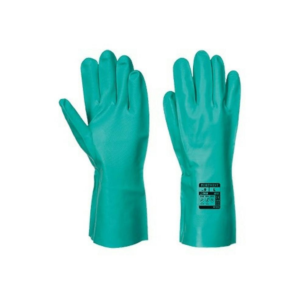 gants de protection chimique nitrile portwest nitrosafe a810. Black Bedroom Furniture Sets. Home Design Ideas