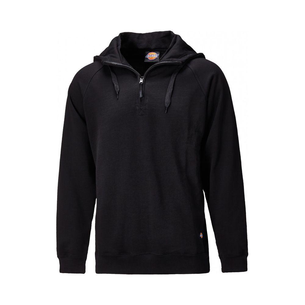 sweat shirt capuche col zipp dickies elmwood. Black Bedroom Furniture Sets. Home Design Ideas