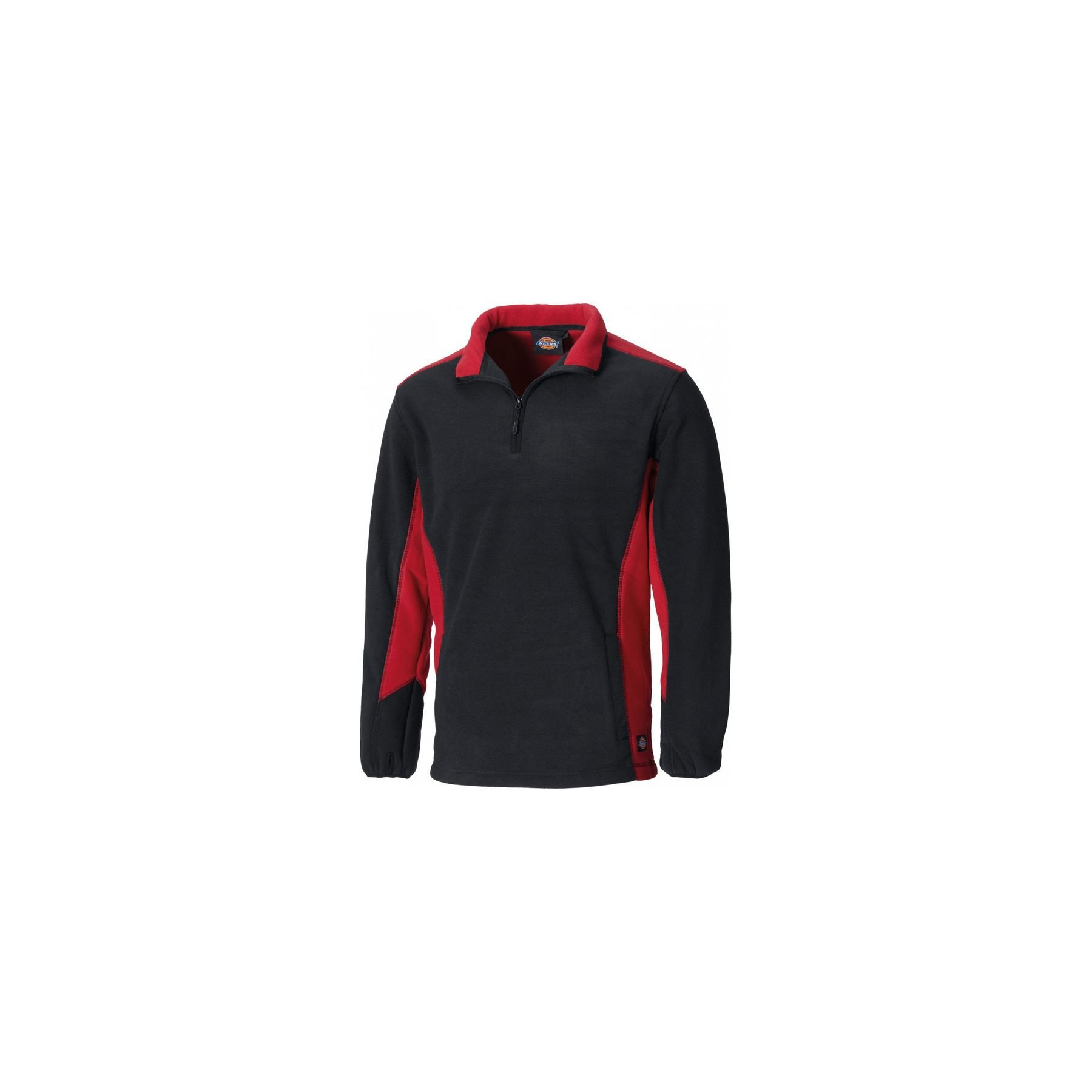 Blouson micropolaire TwoTone Dickies - Rouge