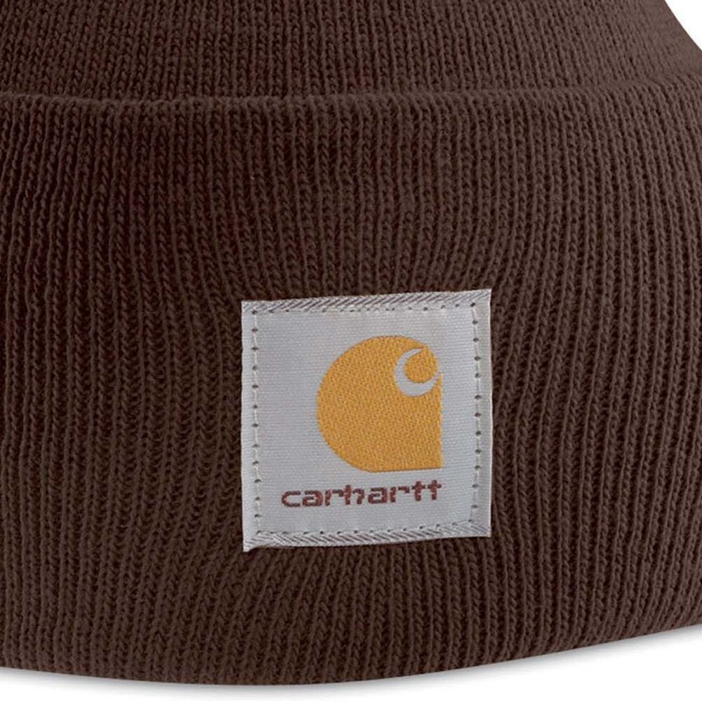 Bonnet Carhartt WIP WATCH - Marron - Détails