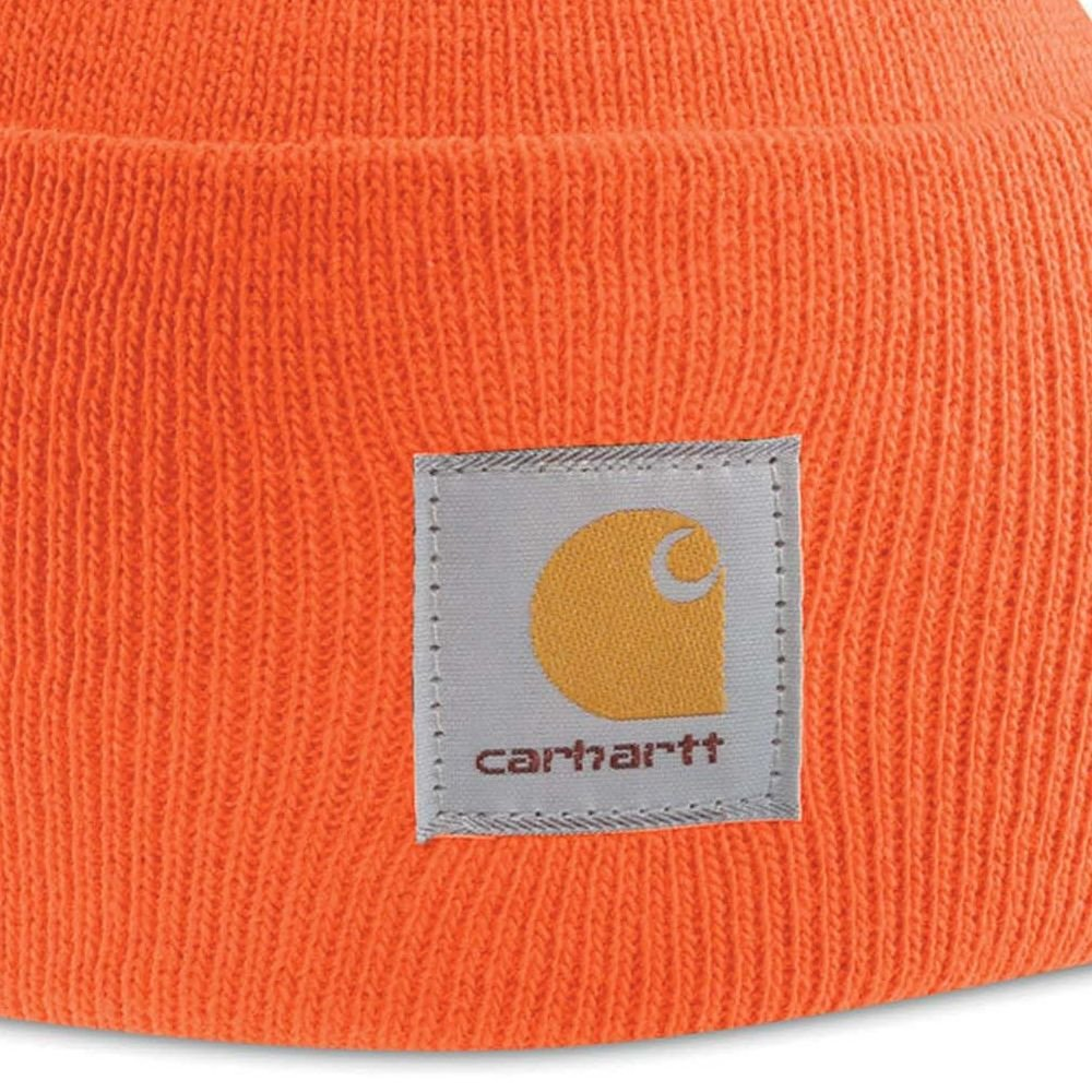 Bonnet Carhartt WIP WATCH - Orange - Détails