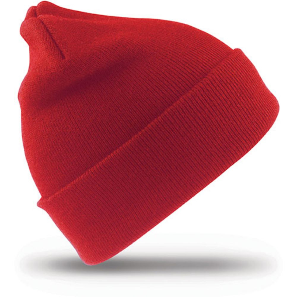 Bonnet hiver Result WOOLLY - Rouge