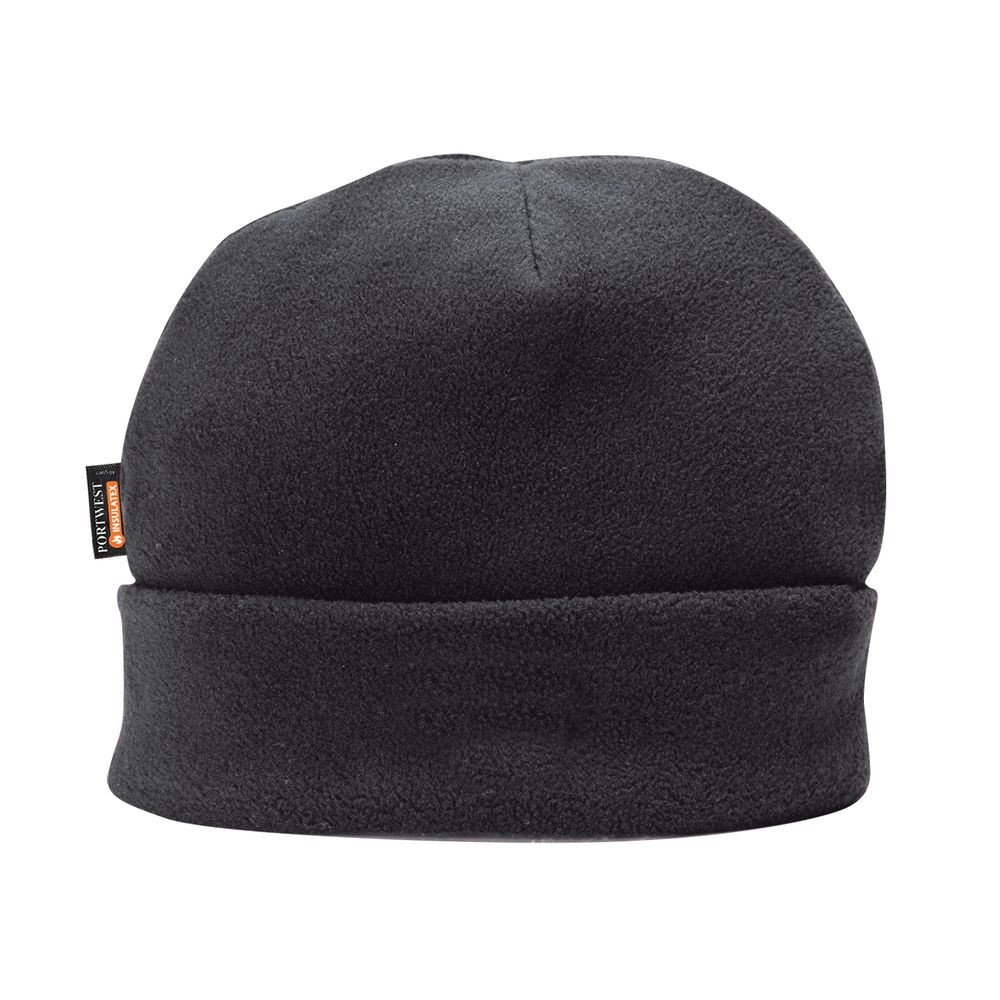 Bonnet Polaire doublé Insulatex Portwest - Noir