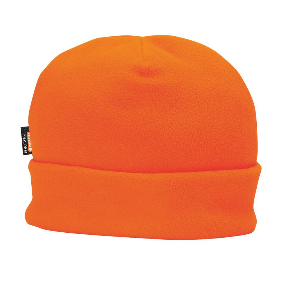 Bonnet Polaire doublé Insulatex Portwest - Orange