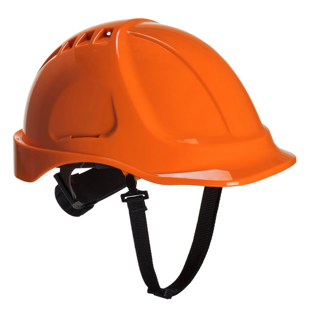 Casque de chantier Portwest Endurance Plus ventilé sans visière - Orange