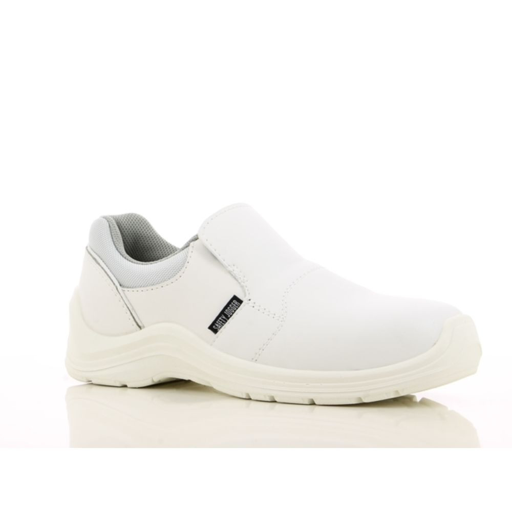 Chaussures de cuisine basses Safety Jogger Gusto S2 SRC - Blanc