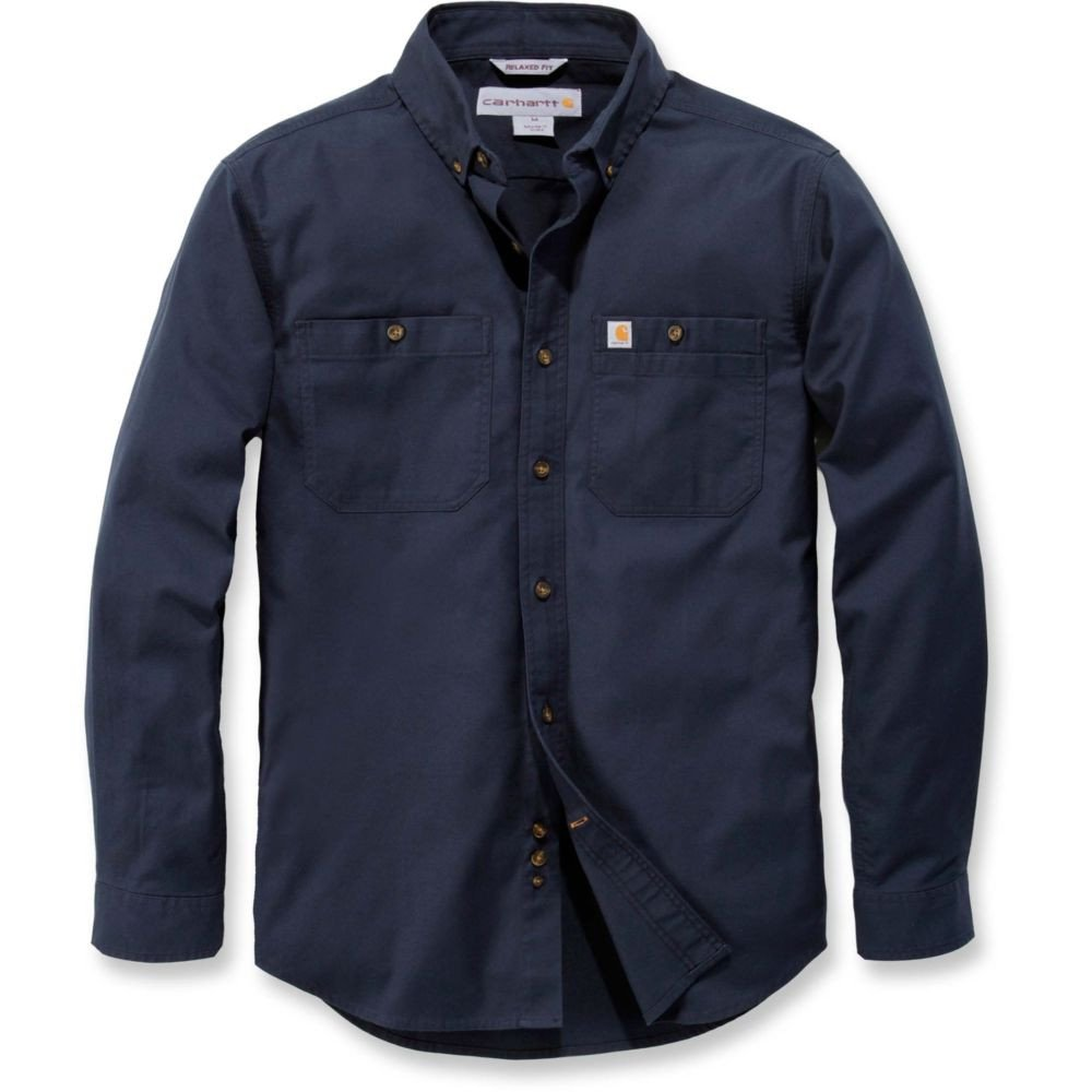 Chemise manches longues Carhartt STRETCH RUGGED FLEX - Navy