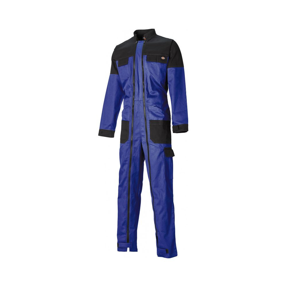 Combinaison de travail double zip Grafter Duo Tone Dickies - Bleu