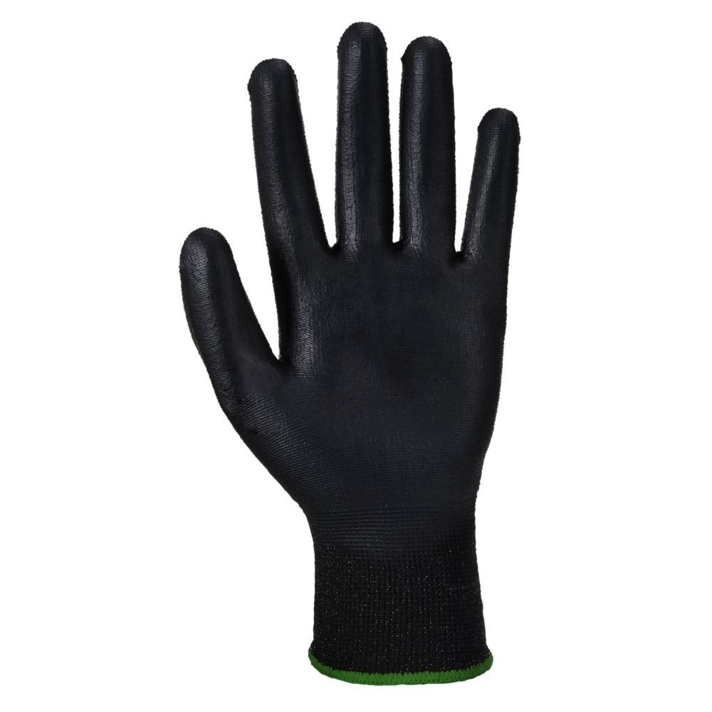 Gants anti-coupure Niveau 3 Portwest ECO-CUT GLOVE - Gants anti-coupure Portwest ECO-CUT GLOVE noir 2