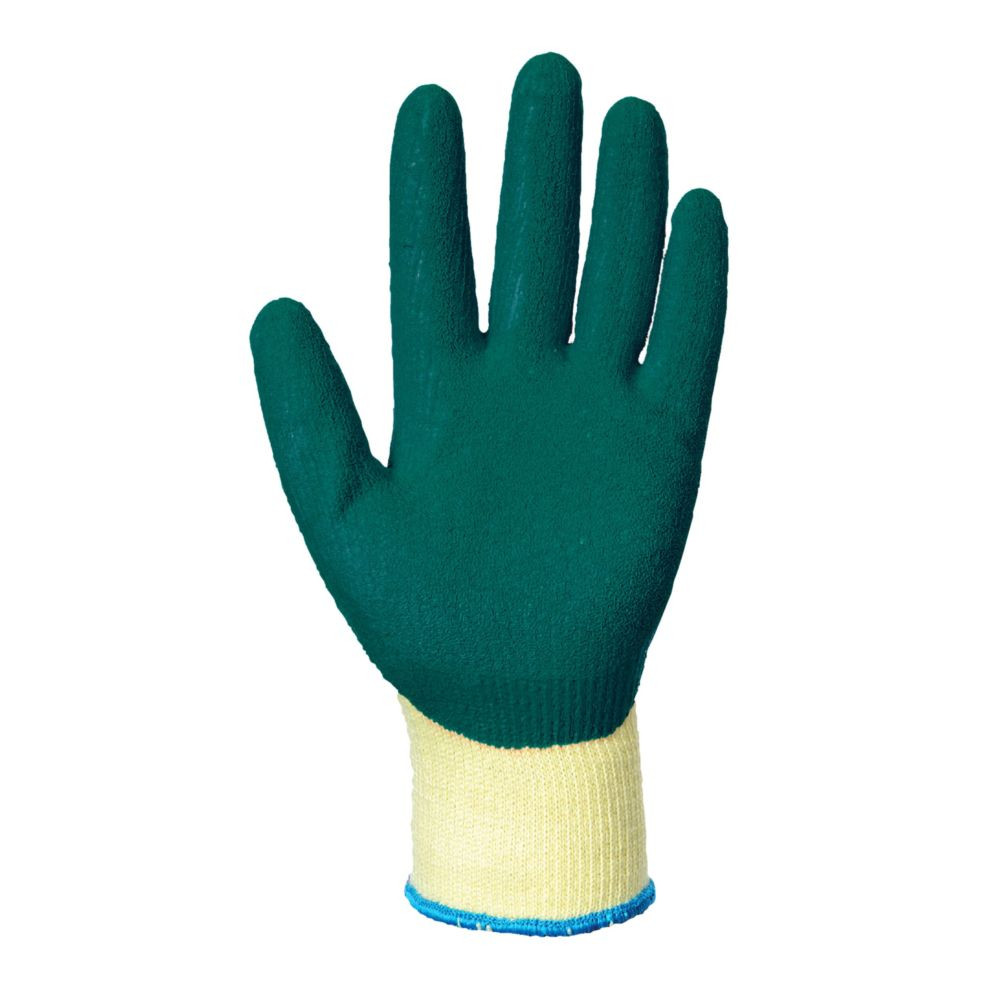 Gants de manutention Portwest ENDUIT LATEX Jaune / Vert 2