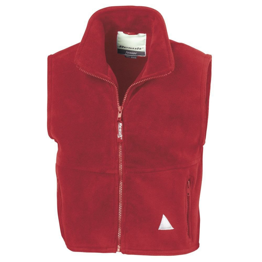 Gilet polaire Kids Result - Rouge