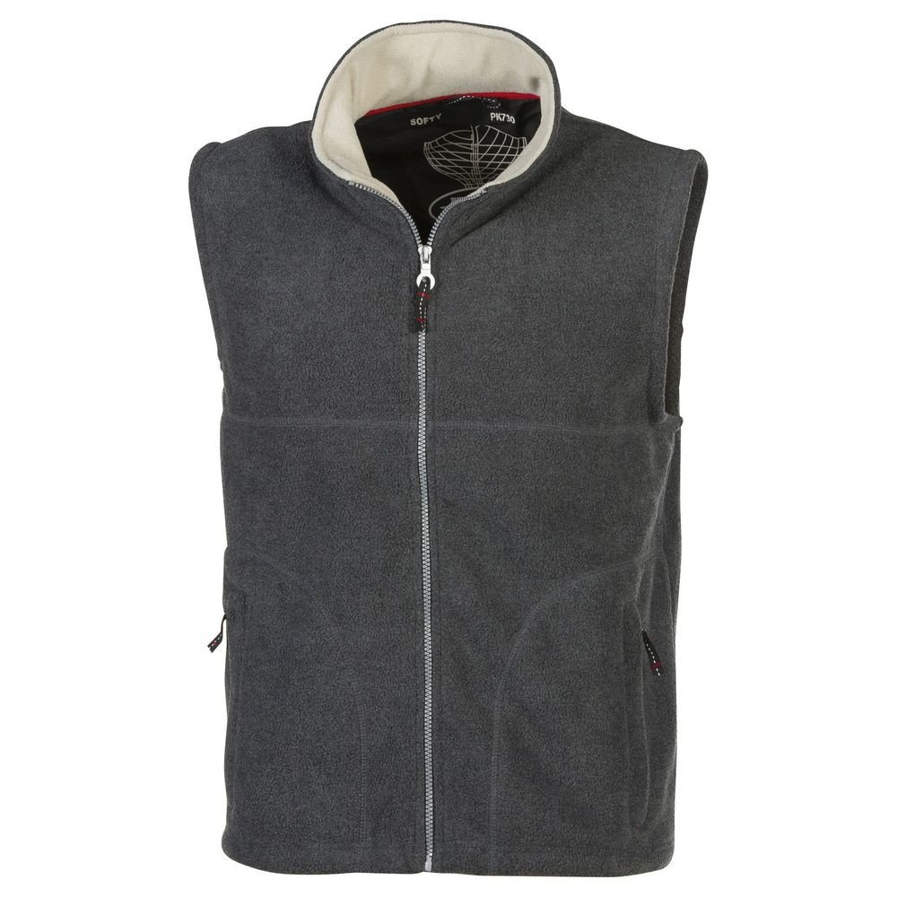 Gilet polaire Pen Duick Softy charcoal