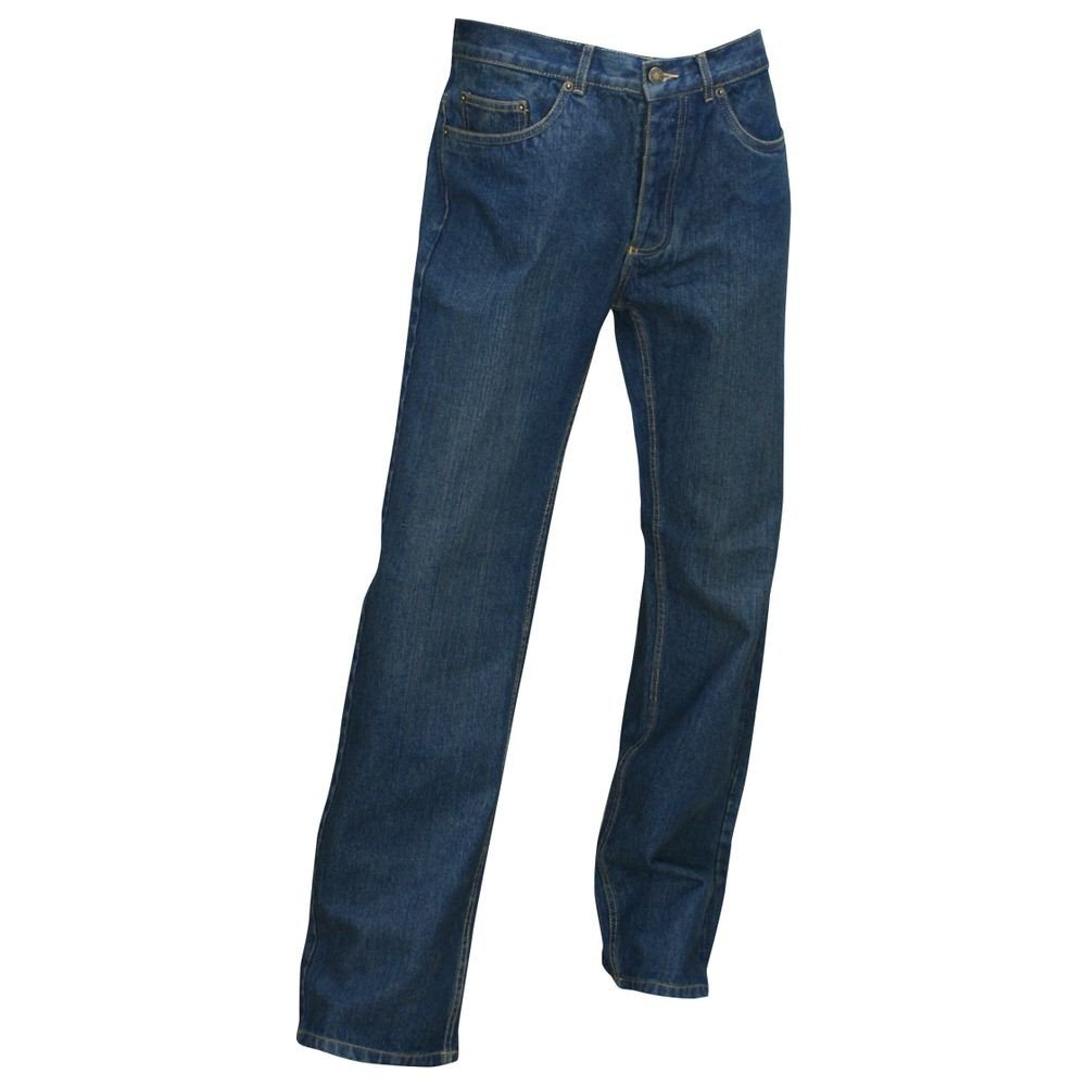 Jeans 5 poches western Ostende LMA braguette zippée - Jeans 5 poches western Ostende LMA