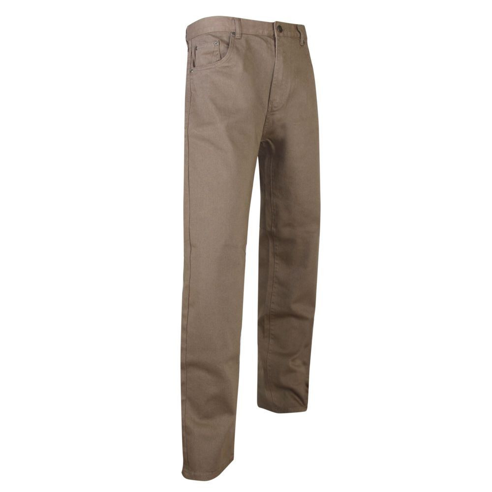 Jeans extensible 5 poches Rio LMA - Taupe
