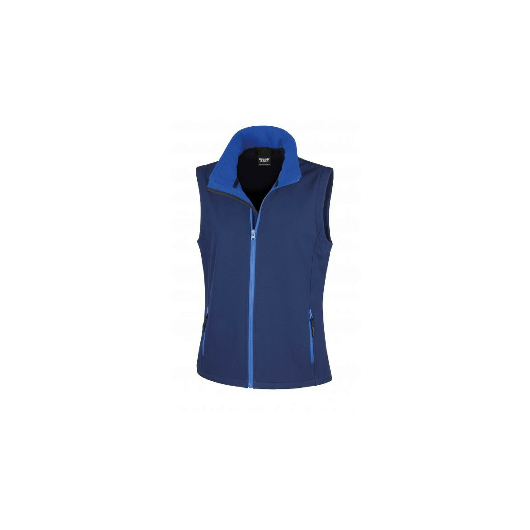 Gilet sans manches softshell femme Result - Navy / royal