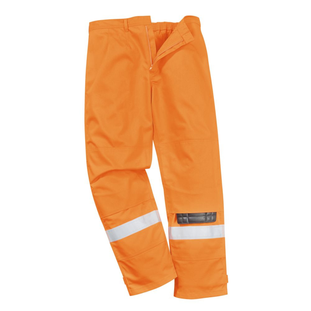 Pantalon ignifugé Portwest BIZFLAME PLUS - Pantalon Ignifugé Portwest Bizflame Plus Orange détail