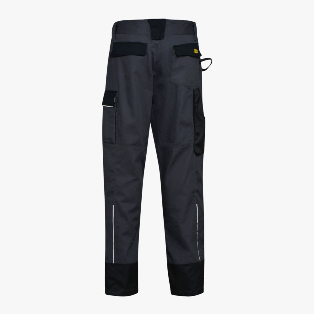 Pantalon de travail Multipoches Diadora Easywork Performance Noir Dos