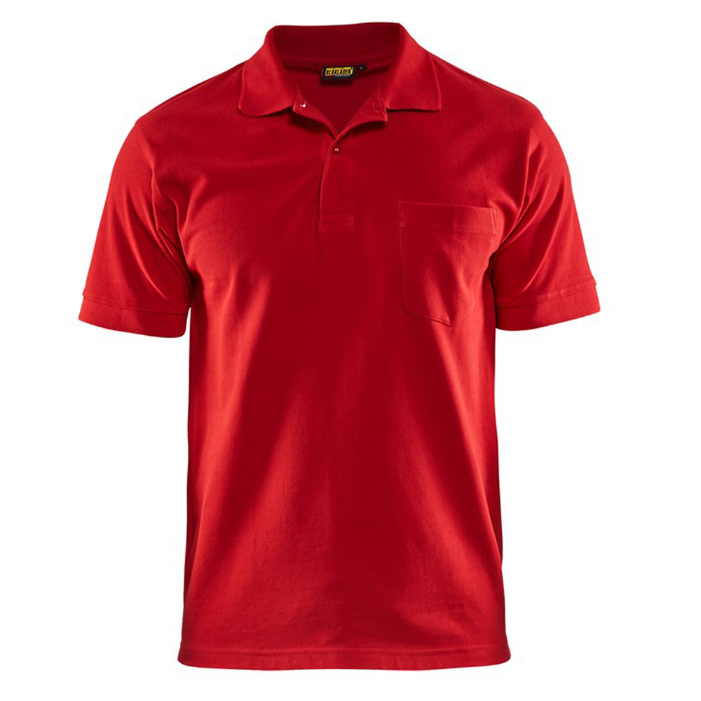 Polo Blaklader 100% coton - Rouge