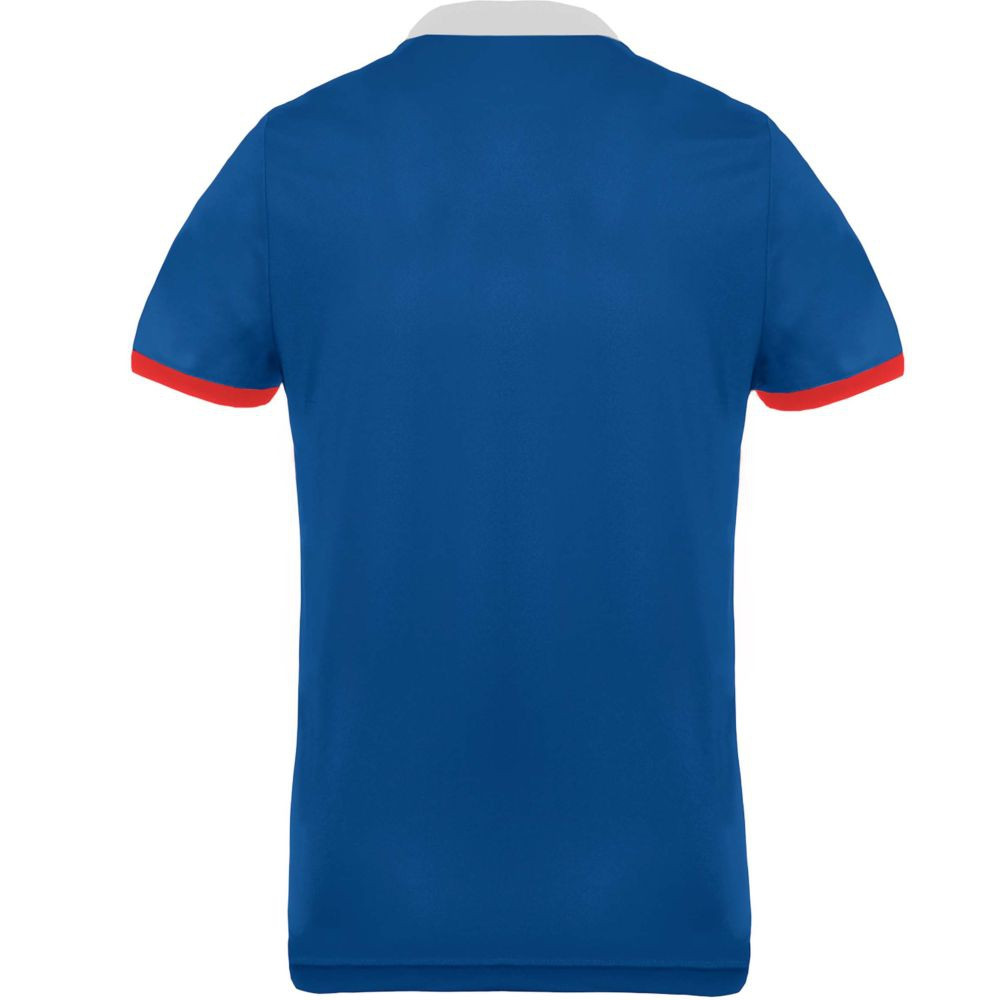 Polo tricolore homme Proact Performance bleu dos