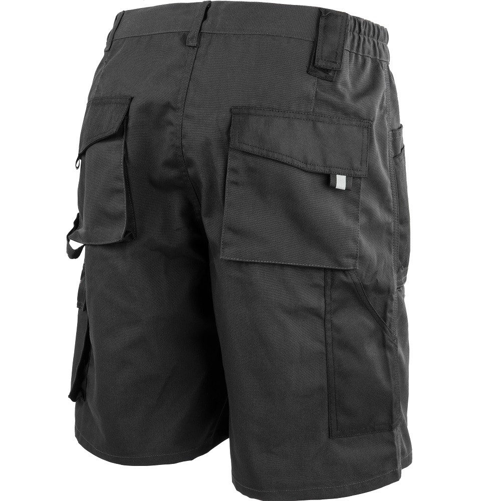 Short de travail Albatros ALLROUND BLACK Noir / Gris Dos