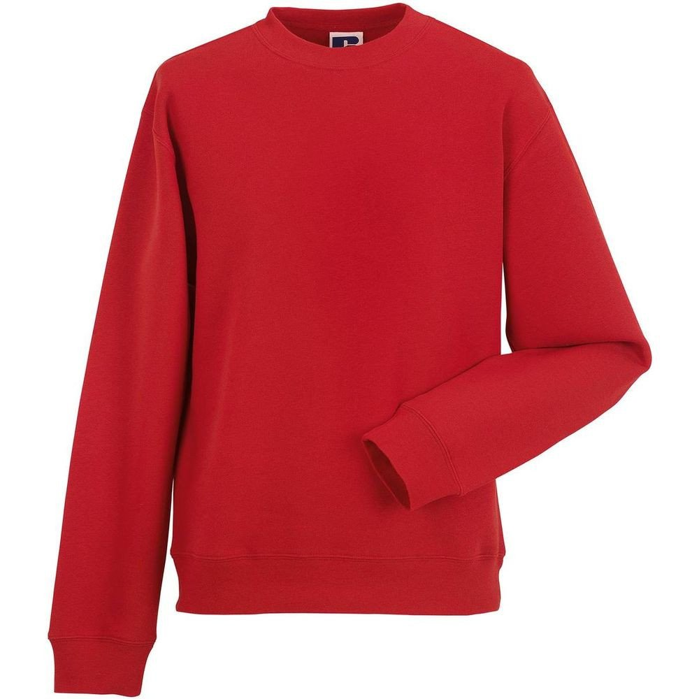 Sweat-shirt de travail manches droites Russell - Rouge