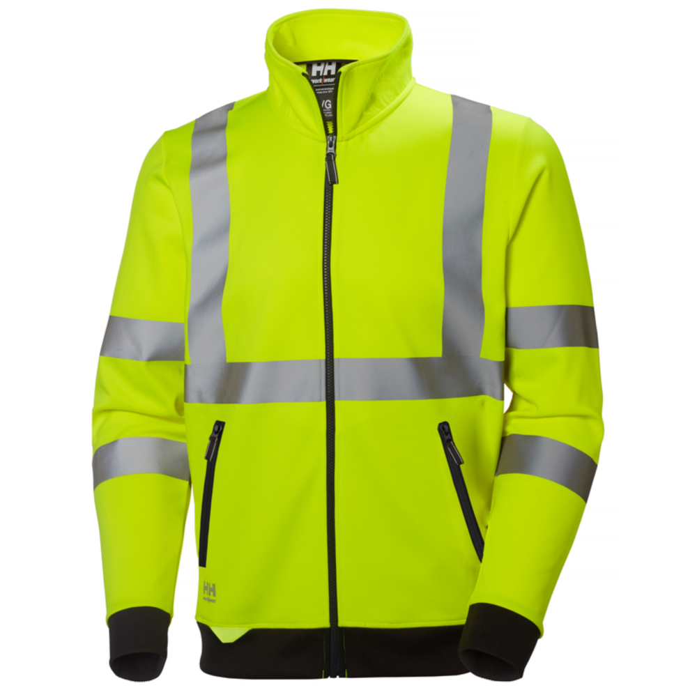 Sweat shirt haute visibilité Helly Hansen ADDVIS ZIP - Jaune