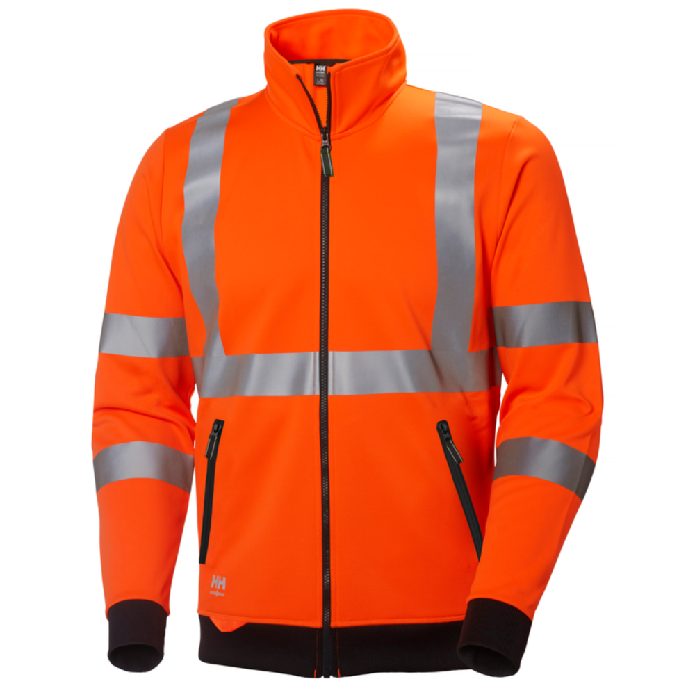 Sweat shirt haute visibilité Helly Hansen ADDVIS ZIP - Orange