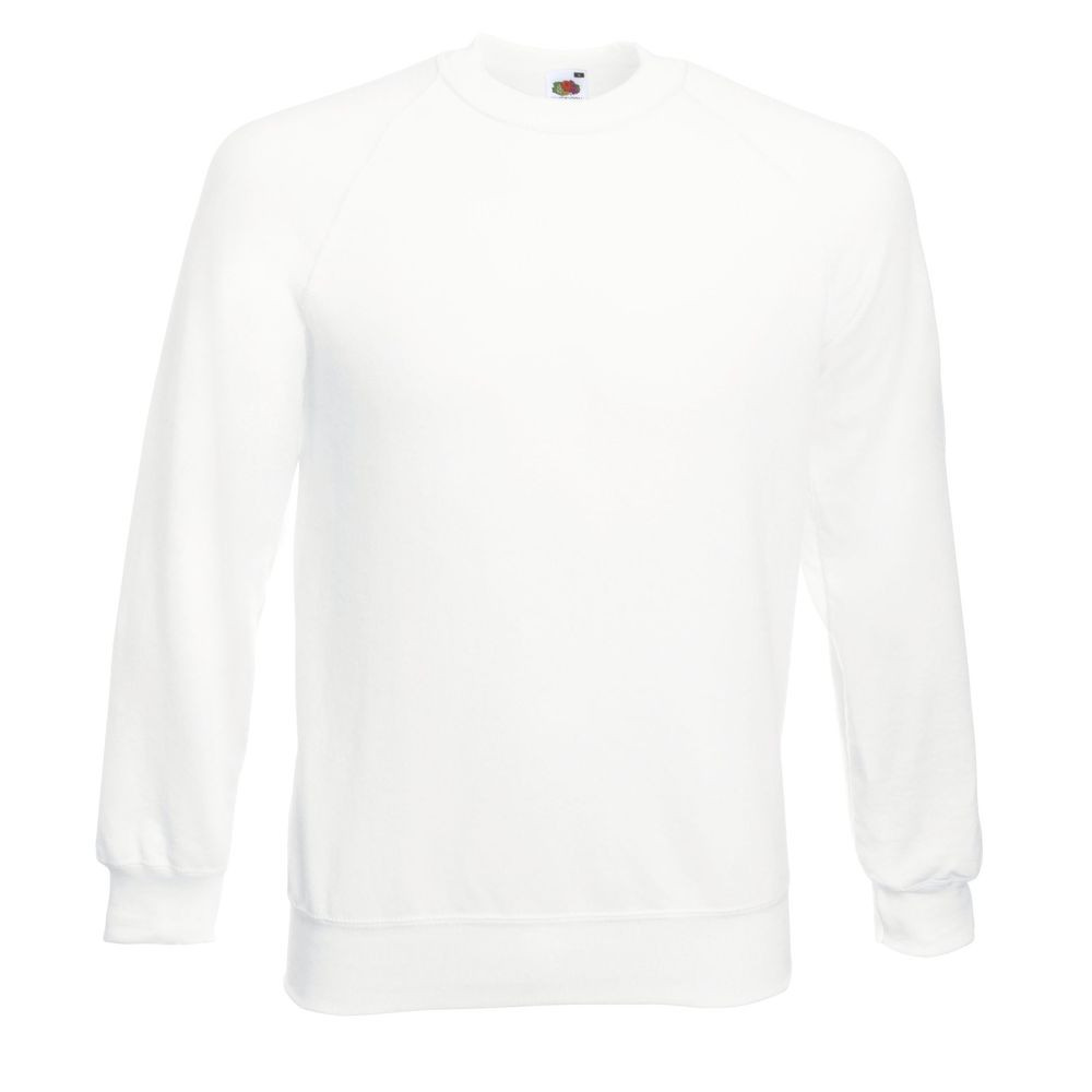 Sweat-shirt manches raglan Fruit Of The Loom Classic blanc