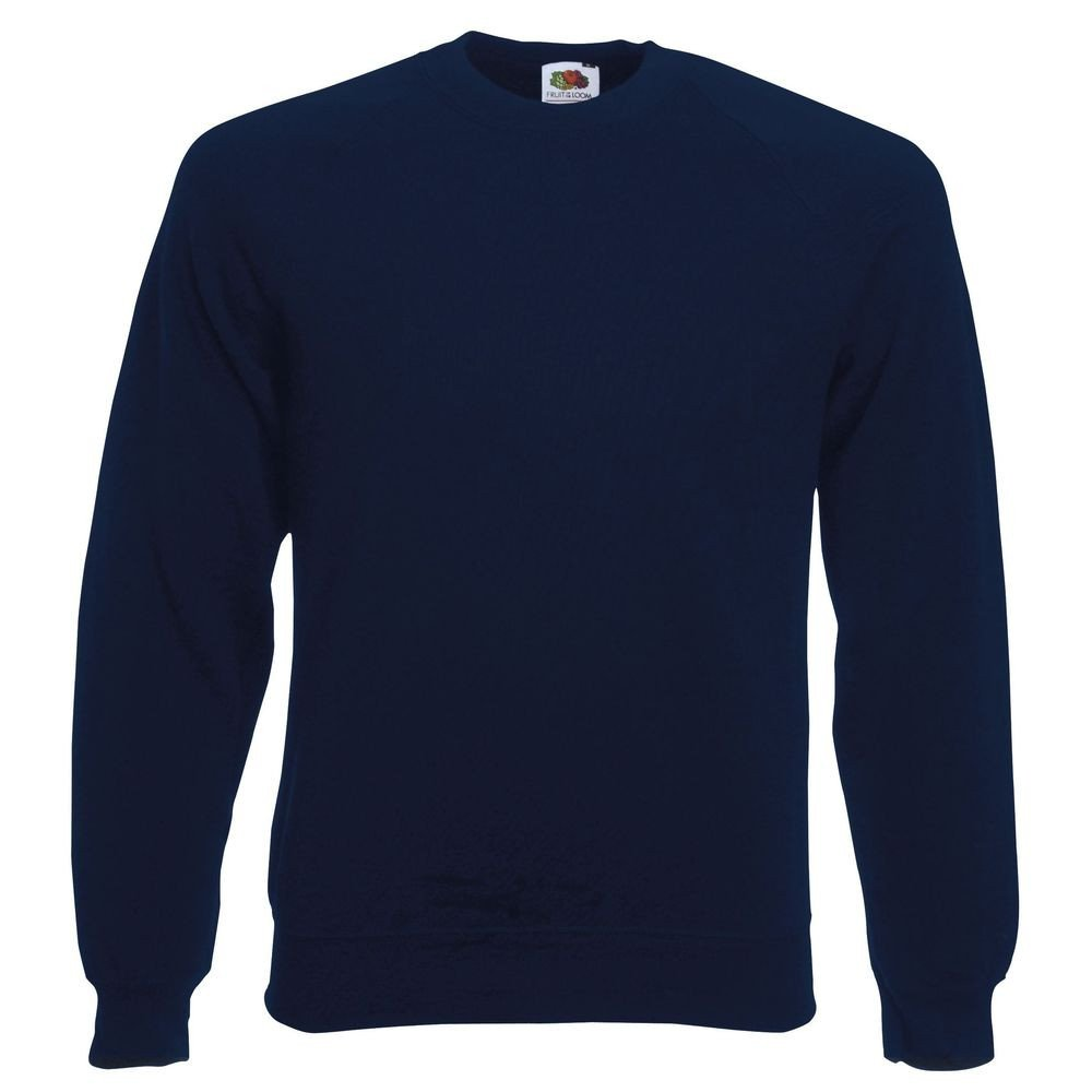 Sweat-shirt manches raglan Fruit Of The Loom Classic marine