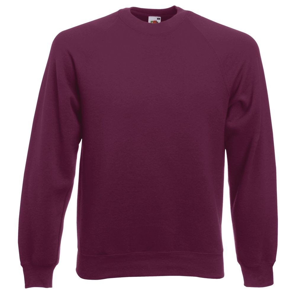 Sweat-shirt manches raglan Fruit Of The Loom Classic violet