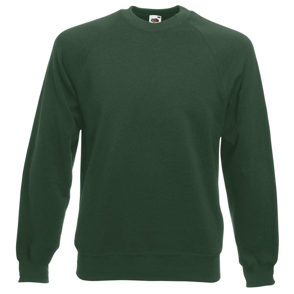 Sweat-shirt manches raglan Fruit Of The Loom Classic vert