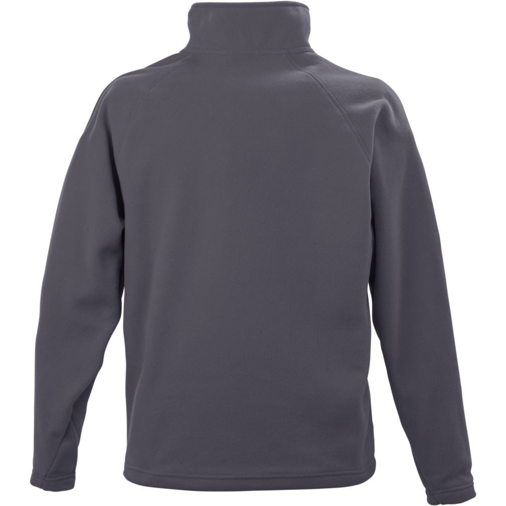 Sweat-shirt micropolaire Result col zippé - Sweat-shirt micropolaire Result R112X Gris Dos