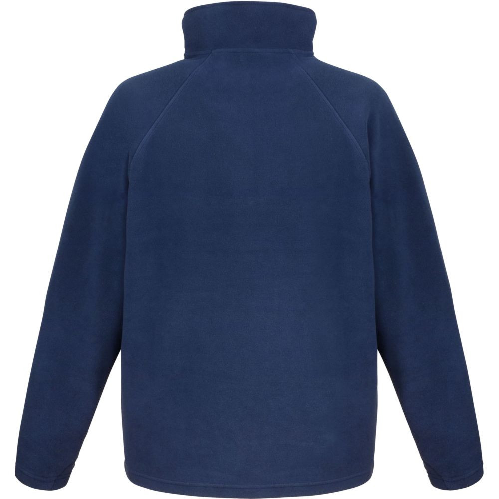 Sweat-shirt micropolaire Result col zippé - Sweat-shirt micropolaire Result R112X Marine Dos