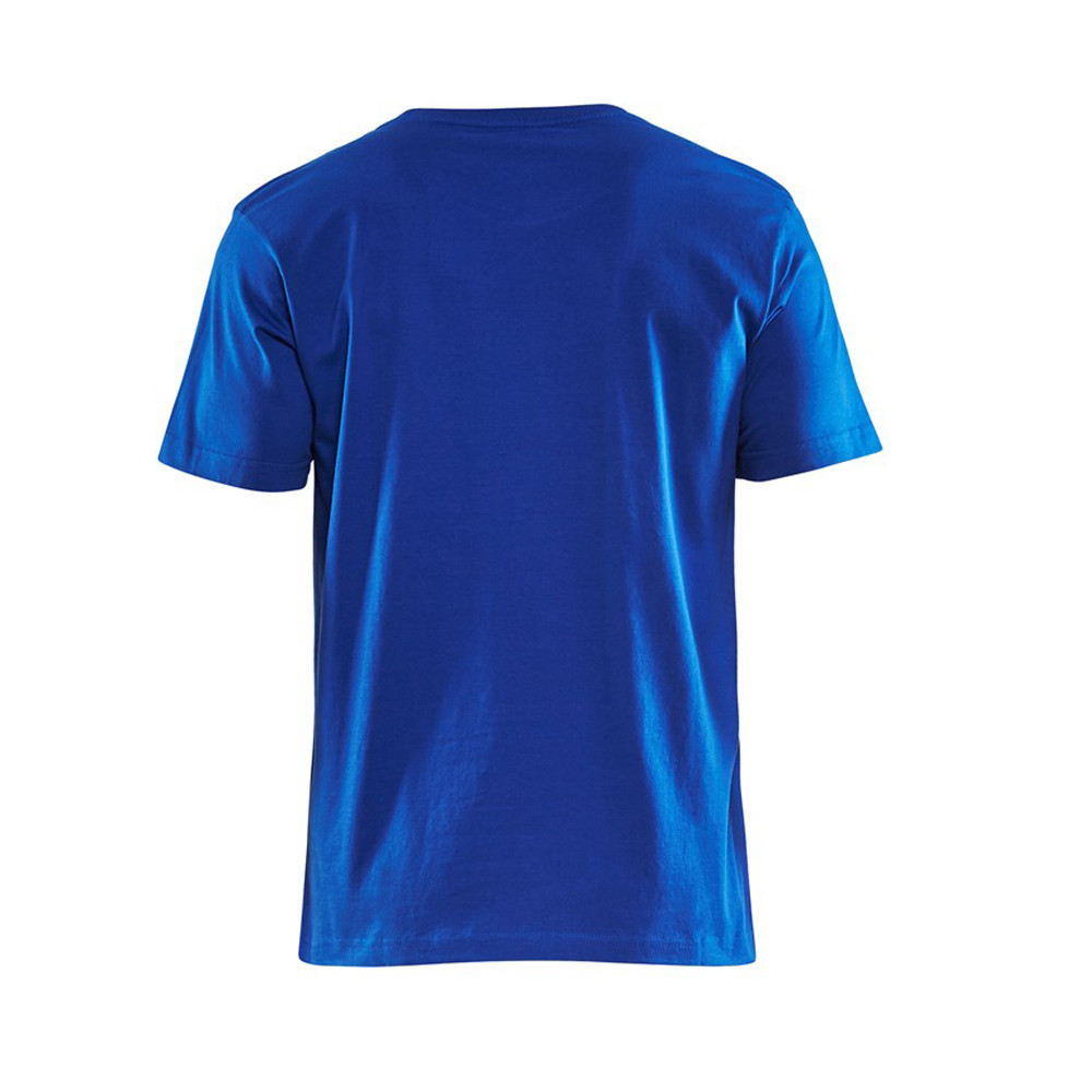 T-shirt Blaklader col rond Homme 100% coton - T-shirt Blaklader Col rond Homme 100% coton bleu roi dos
