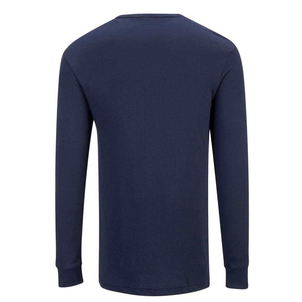 Tee-shirt Thermique Manches Longues Portwest Marine Dos