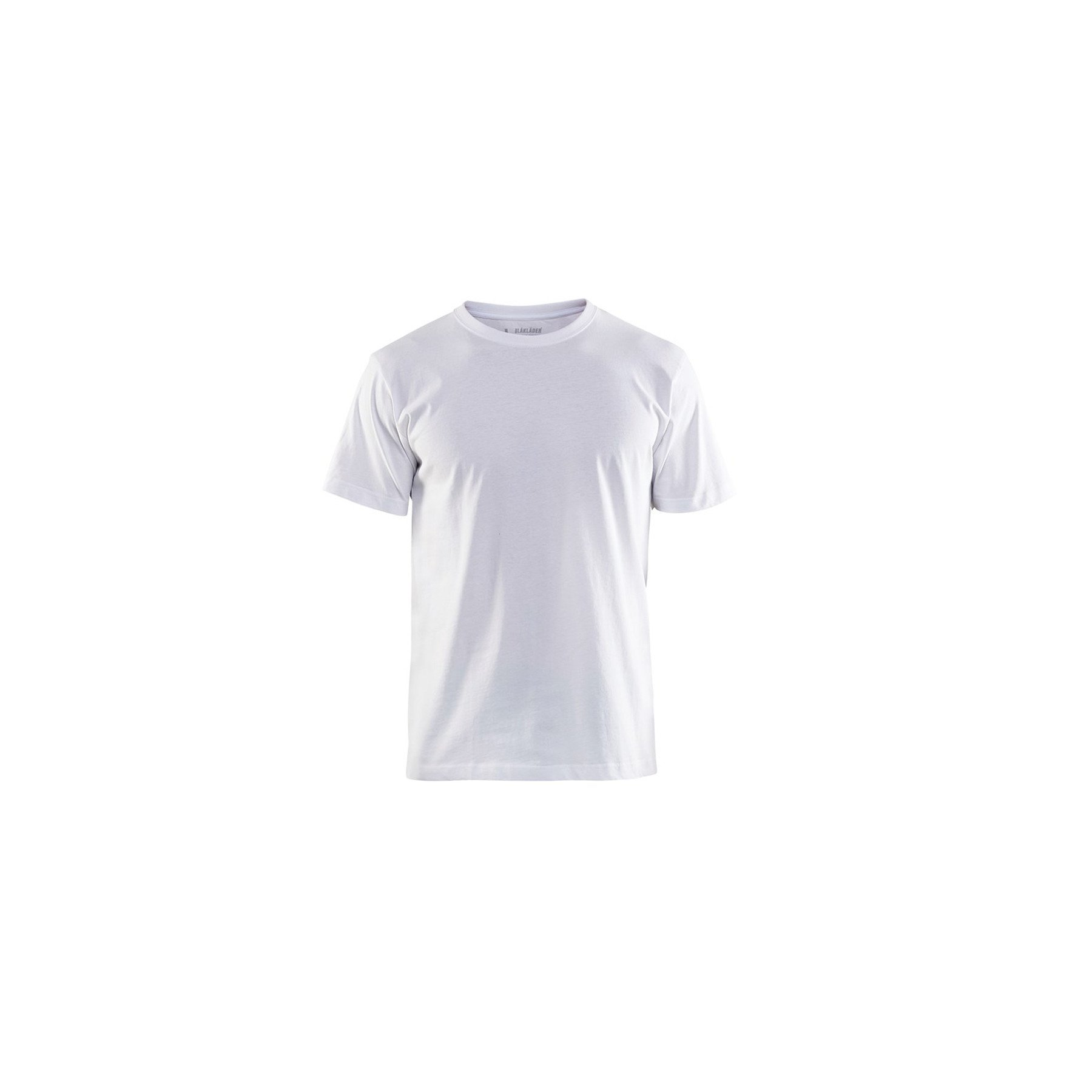 T-shirt Blaklader col rond Homme 100% coton - Blanc