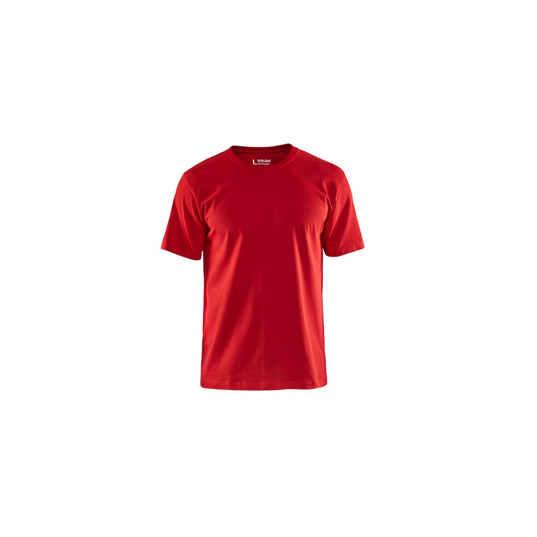 T-shirt Blaklader col rond Homme 100% coton - Rouge