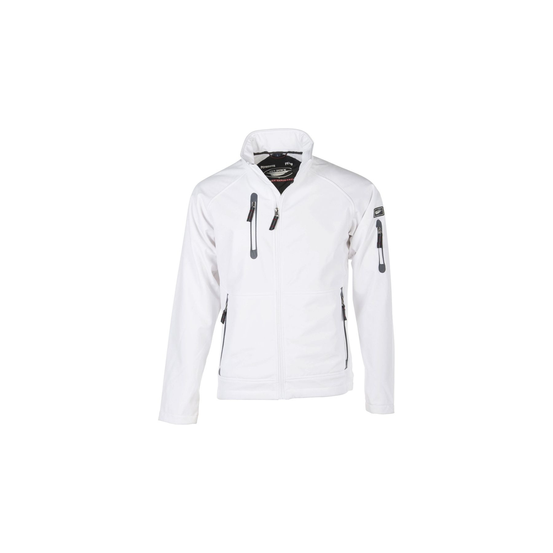 Veste softshell Plymouth Pen Duick - Blanc