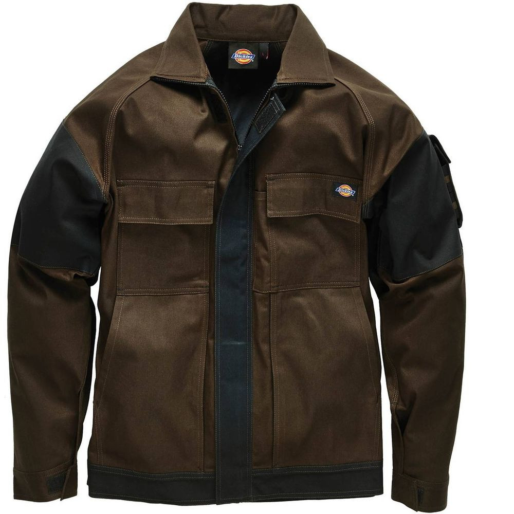 Veste de travail Grafter Duo Tone Dickies - Marron