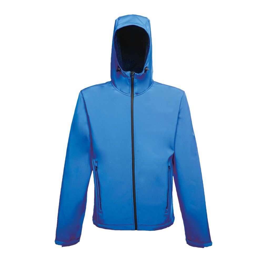 Veste imprimable à capuche Softshell Regatta Great Outdoors Stand Out ARLEY II - Bleu