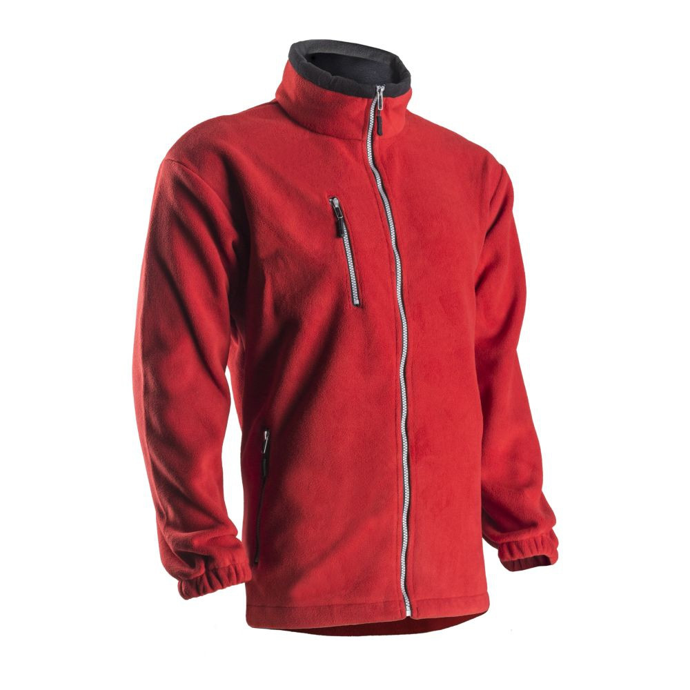 Veste polaire hiver Coverguard Angara - Rouge