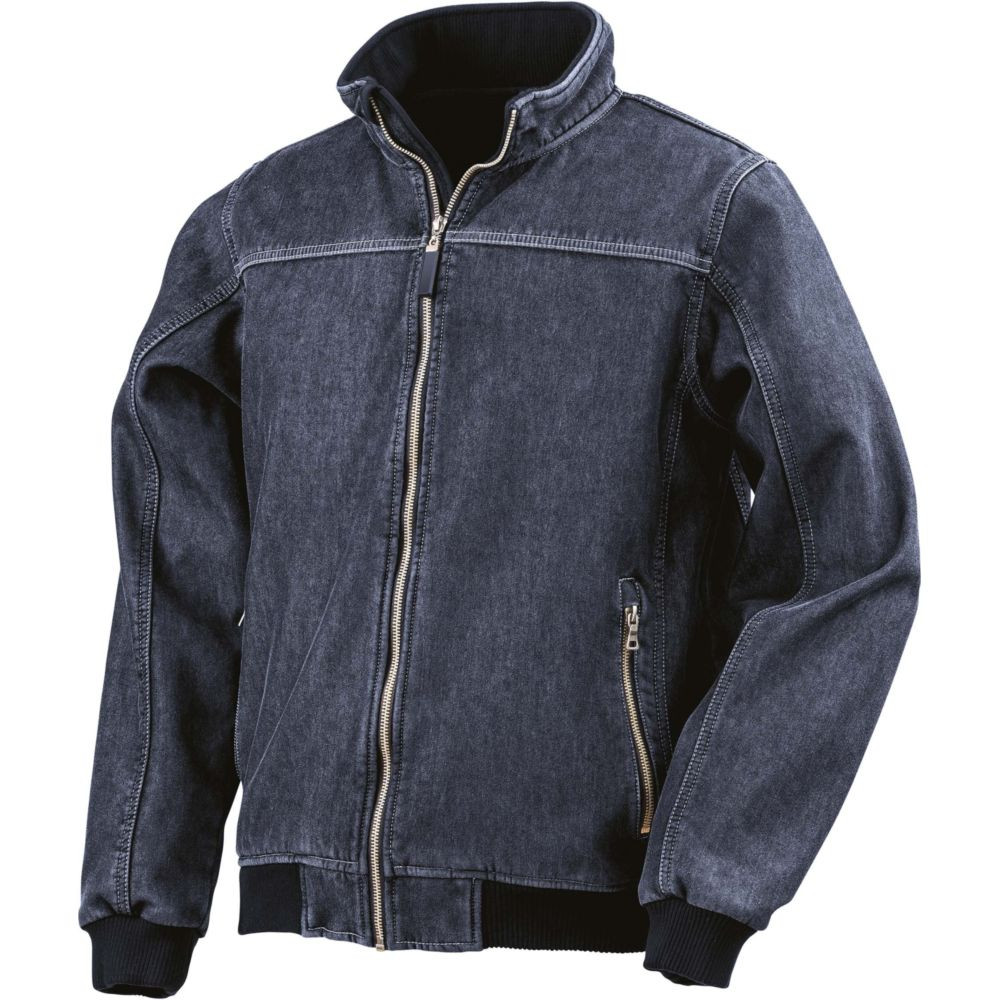 Veste softshell Result Denim lavé - Marine