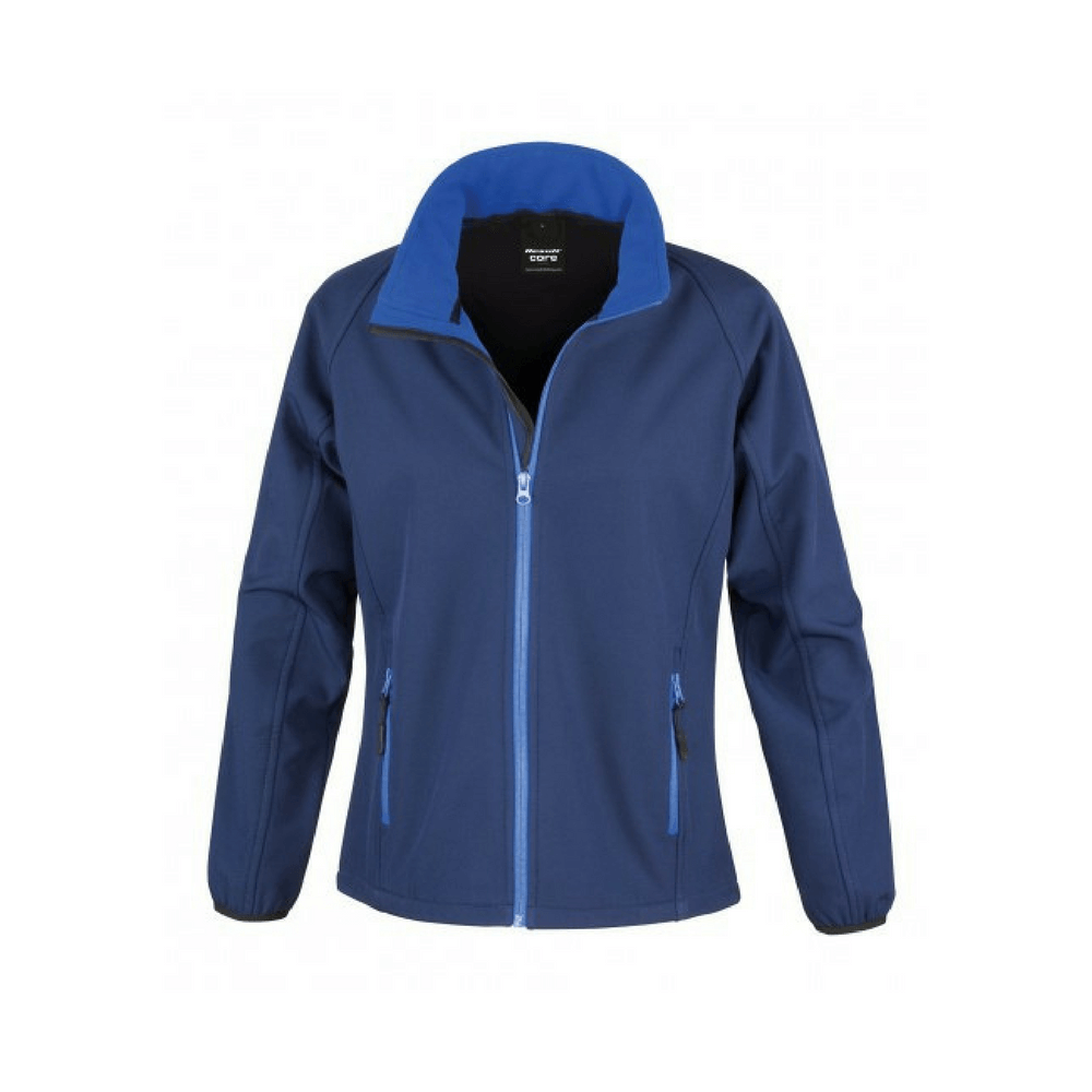 Veste Softshell femme Result - Navy / Royal