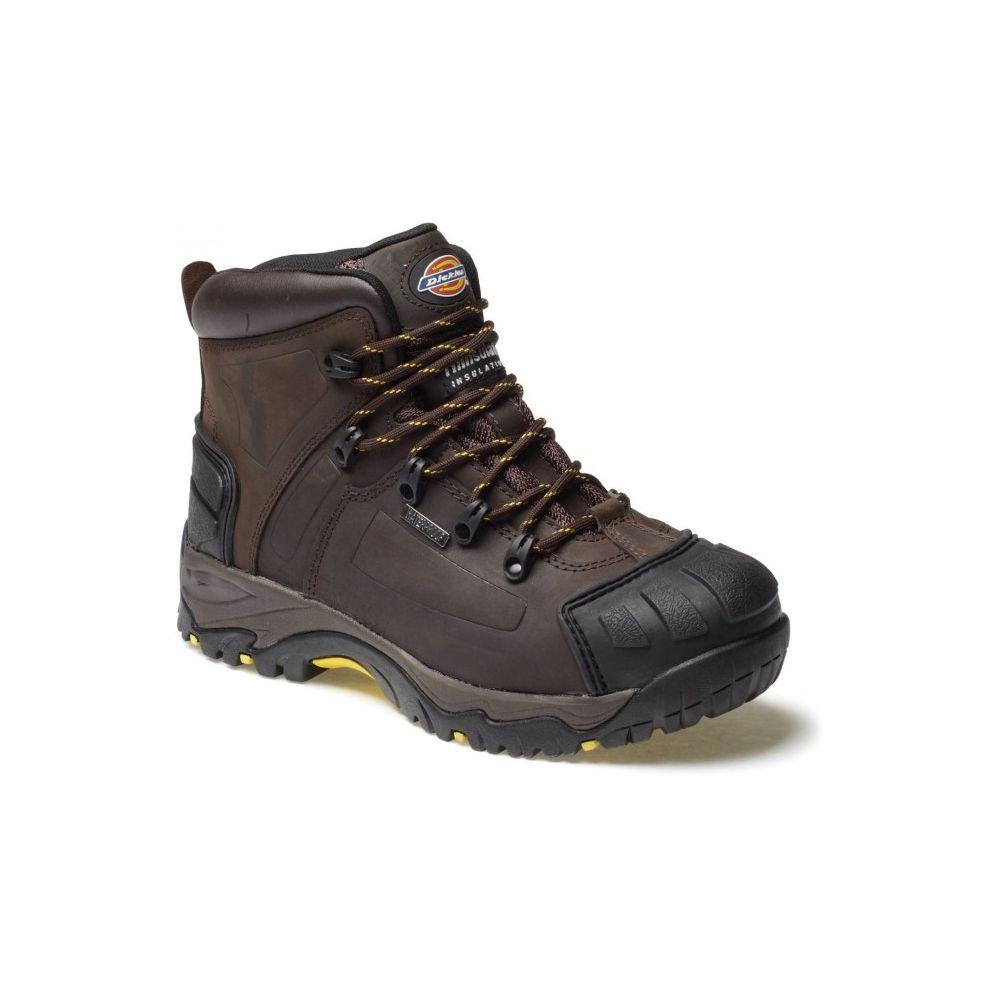 Chaussure haute de randonnee et de securite medway dickies - Chaussure de securite haute ...
