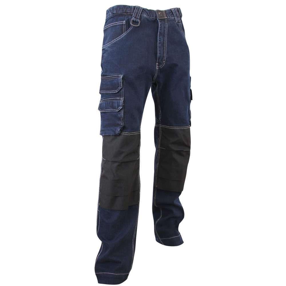 Jeans de travail DOCK LMA - Marine