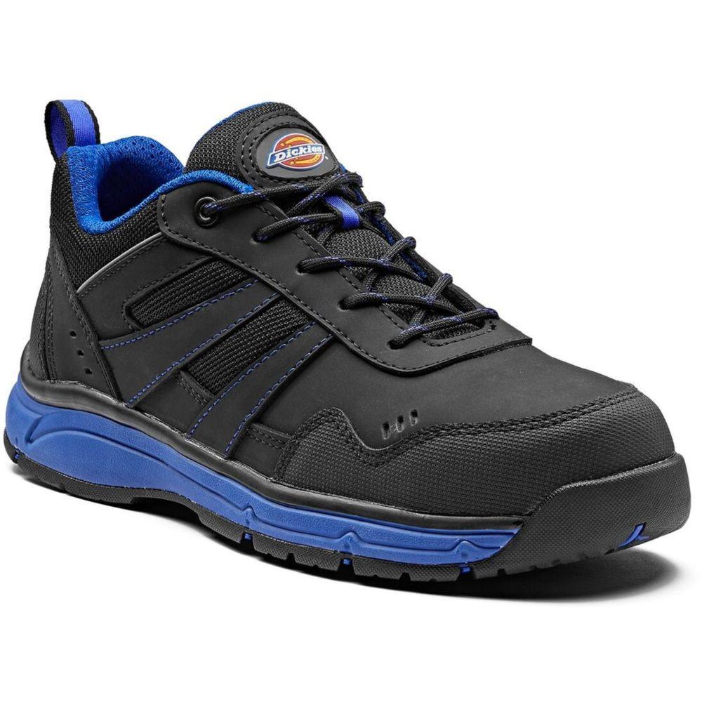 Basket de sécurité 100% non métallique Dickies Emerson S3 SRC - Noir / Bleu Royal